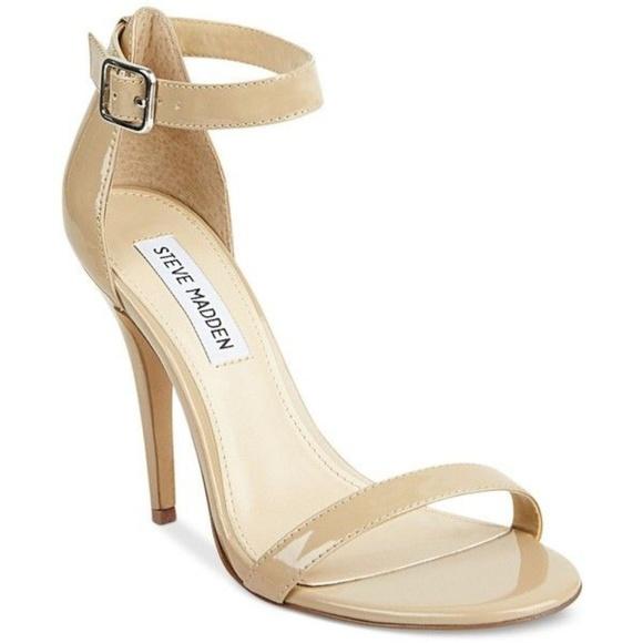 af69ecf701b Steve Madden Nude Realove Heel Sandals